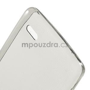 Gelový slim obal pro Lenovo A536 - šedý - 4