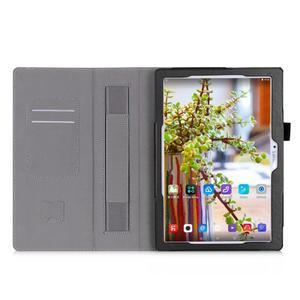 Safe PU kožené pouzdro na Lenovo Tab 3 10 Plus / Business - černé - 4