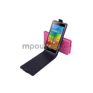 Flipové pouzdro na mobil Lenovo Vibe X2 - rose - 4