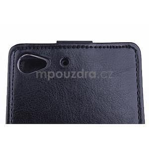 Flipové pouzdro na mobil Lenovo Vibe X2 - černé - 4