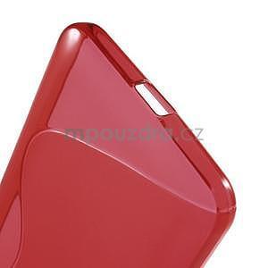 S-line gelový obal na Microsoft Lumia 640 XL - červený - 4