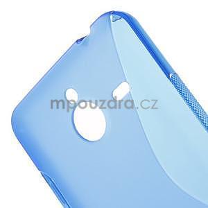 S-line gelový obal na Microsoft Lumia 640 XL - modrý - 4