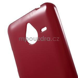 Červený gelový obal pro Microsoft Lumia 640 XL - 4