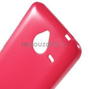 Rose gelový obal pro Microsoft Lumia 640 XL - 4