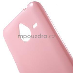 Růžový gelový obal pro Microsoft Lumia 640 XL - 4