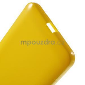Žlutý gelový obal pro Microsoft Lumia 640 XL - 4