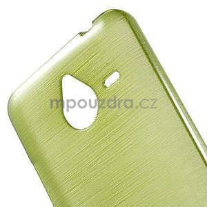 Gelový kryt s broušeným vzorem Microsoft Lumia 640 XL - zelený - 4