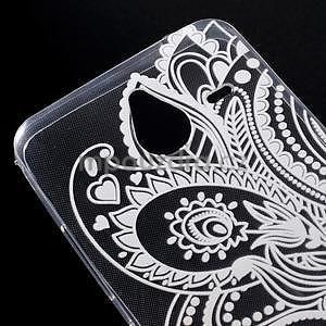Transparentní gelový obal na Microsoft Lumia 640 XL - henna - 4