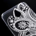 Transparentní gelový obal na Microsoft Lumia 640 XL - henna - 4/5