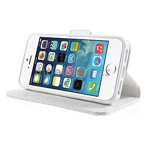 Cool Style pouzdro na iPhone 5 a iPhone 5s - bílé - 4
