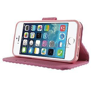 Cool Style pouzdro na iPhone 5 a iPhone 5s - růžové - 4