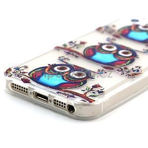 Fun gelový obal na iPhone 5s a iPhone 5 - sova - 4