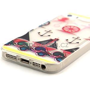 Fun gelový obal na iPhone 5s a iPhone 5 - kotva - 4
