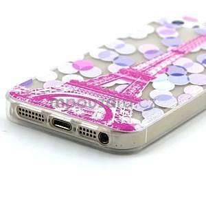 Fun gelový obal na iPhone 5s a iPhone 5 - Eiffelova věž - 4