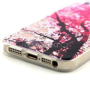 Fun gelový obal na iPhone 5s a iPhone 5 - třešeň - 4