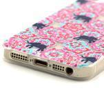 Fun gelový obal na iPhone 5s a iPhone 5 - sloni - 4/4