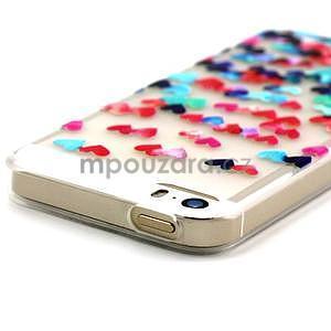 Fun gelový obal na iPhone 5s a iPhone 5 - srdíčka - 4