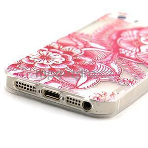 Fun gelový obal na iPhone 5s a iPhone 5 - mandala - 4