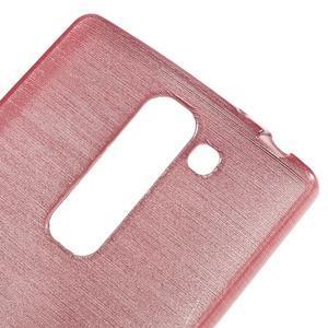 Brush gelový kryt na LG G4c H525N - růžový - 4