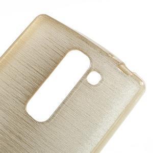 Brush gelový kryt na LG G4c H525N - champagne - 4
