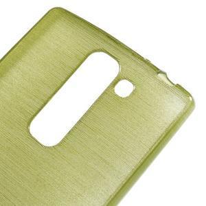 Brush gelový kryt na LG G4c H525N - zelený - 4