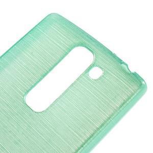 Brush gelový kryt na LG G4c H525N - cyan - 4