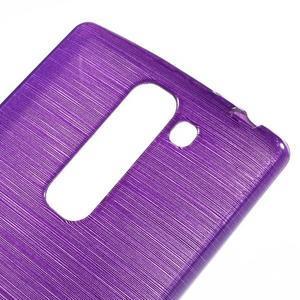 Brush gelový kryt na LG G4c H525N - fialový - 4