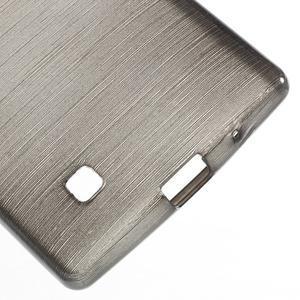 Brush gelový kryt na LG G4c H525N - šedý - 4