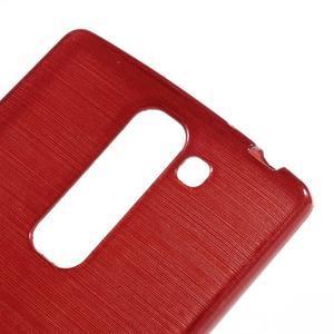 Brush gelový kryt na LG G4c H525N - červený - 4