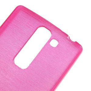 Brush gelový kryt na LG G4c H525N - rose - 4