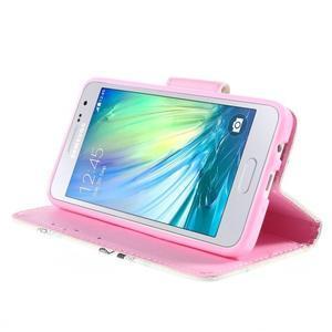 Pouzdro na mobil Samsung Galaxy A3 - sova - 4