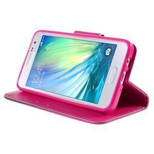 Pouzdro na mobil Samsung Galaxy A3 - srdce - 4