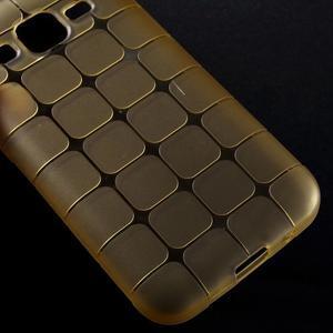 Square matný gelový obal na Samsung Galaxy Core Prime - champagne - 4