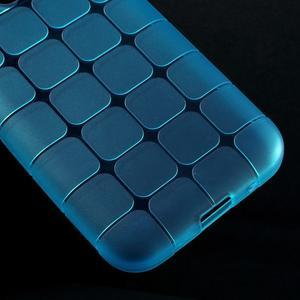 Square matný gelový obal na Samsung Galaxy Core Prime - modrý - 4
