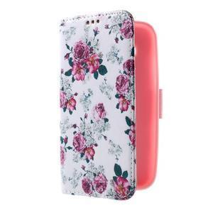 Pouzdro na mobil Samsung Galaxy Core Prime - květiny - 4