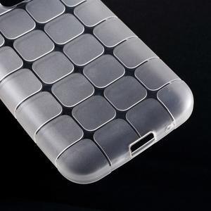 Square matný gelový obal na Samsung Galaxy Core Prime - transparentní - 4