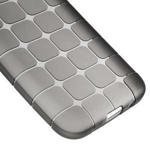 Square matný gelový obal na Samsung Galaxy Core Prime - šedý - 4