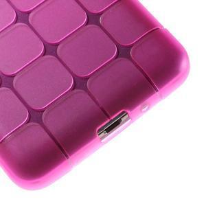 Square gelový obal na Samsung Galaxy Grand Prime - rose - 4