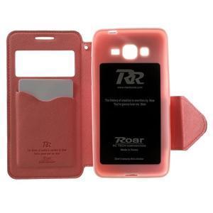 Safety pouzdro s okýnkem pro Samsung Galaxy Grand Prime - rose - 4