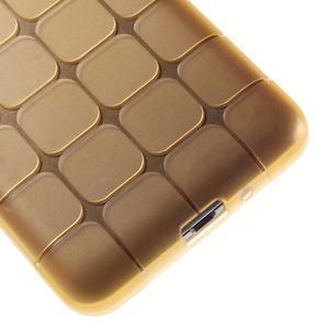 Square gelový obal na Samsung Galaxy Grand Prime - zlaté - 4