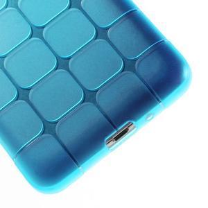 Square gelový obal na Samsung Galaxy Grand Prime - modré - 4