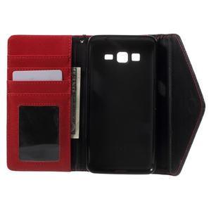 Writes elegantní pouzdro na Samsung Galaxy Grand Prime - červené - 4