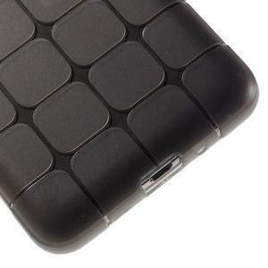 Square gelový obal na Samsung Galaxy Grand Prime - šedý - 4