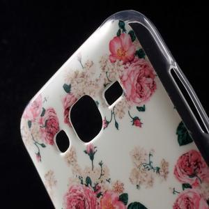 Gelové pouzdro na mobil pro Samsung Galaxy J5 - květiny - 4