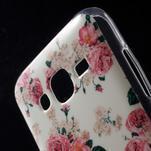 Gelové pouzdro na mobil pro Samsung Galaxy J5 - květiny - 4/5