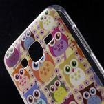 Gelové pouzdro na mobil pro Samsung Galaxy J5 - sovičky - 4/5