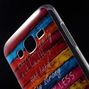 Gelové pouzdro na mobil pro Samsung Galaxy J5 - barvy dřeva - 4