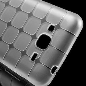 Square matný gelový obal na Samsung Galaxy J5 - transparentní - 4