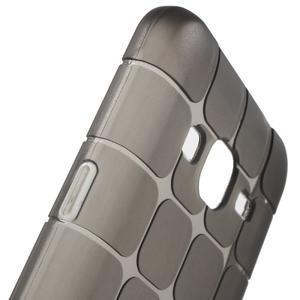 Square matný gelový obal na Samsung Galaxy J5 - šedý - 4