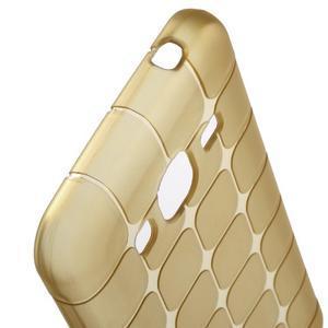 Square matný gelový obal na Samsung Galaxy J5 - champagne - 4